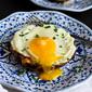 Portobello Baked Eggs with Spinach & Smoked Gouda Recipe