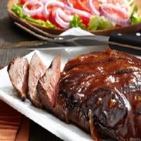 Barbecued Beef Steak