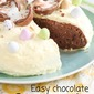 Easy chocolate Easter cake