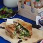 Indian Fusion Club Sandwich