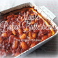 Maple Baked Butterbeans