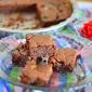 M& M Brownies recipe - Easy eggless bakes