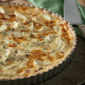 Hop to It: Ham and Artichoke Quiche with Mustard-Rye Crust