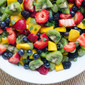 Fruit Salad with Sweet Lime Dressing and a Crisp™ Cooking Tools Giveaway!