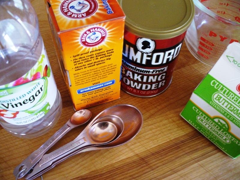 Substitute Buttermilk for Sweet Milk in Baked Goods