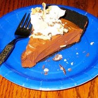 Faux Chocolate Silk Pie