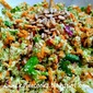 Broccoli Chop Salad with Garlic Honey Dressing