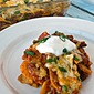 Mexican Sweet Potato Casserole~ Secret Recipe Club