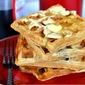 Banana Maple Nut Waffles
