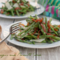 Asparagus and Prosciutto Salad with Lemon Vinaigrette #bloggerCLUE