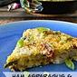 Easter Leftover Ham, Asparagus & Potato Frittata