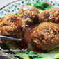 Savory Beef Meat Balls