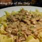 Beef Stroganoff for a Crowd
