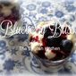 Blueberry Bliss Dessert