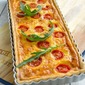 Cherry Tomato, Cheese and Red Onion Marmalade Quiche
