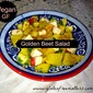 Golden Beet Salad in Citrus Sauce