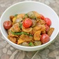 Stir-Fried Thai Eggplant and Tomatoes