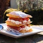 Easy Rhubarb Millefeuille for the Great British Rhubarb Recipe Round-Up