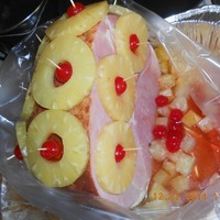 Holiday Ham with Pineapples (Easter or Christmas)