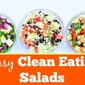 3-Salads [with Just 5 Ingredients!] (video)