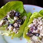 Healthy Chicken Salad with Grapes and Pecans