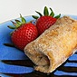 Strawberry Lime Cheesecake Chimichangas #CincoDeMayo