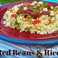 Creole Red Beans and Cauliflower Rice
