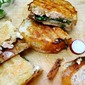 Chicken Panini with Brie and Fig Jam