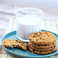 Two Ingredient Oatmeal Cookies