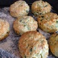 Cheese and Wild Garlic Scones