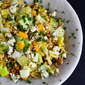 Kamut Salad with Oranges, Leeks & Blue Cheese {Giveaway}