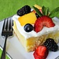 Skinny Almond Joy Poke Cake