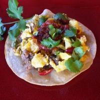 Breakfast Tacos (or Tostados)