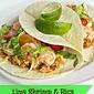 Lime Shrimp & Rice Tacos