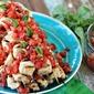 Bruschetta Chicken Kabobs + a Char-Broil Kettleman™ Grill