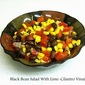 Black Bean Salad With Lime-Cilantro Vinaigrette