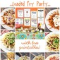 How to Have an EPIC Loaded Fry Party! - with free party printables!