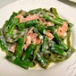 Fettucine with Asparagus and Smoked Salmon