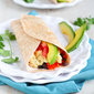 Healthy Breakfast Burrito with Avocado & Chipotle Yogurt