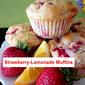 Strawberry-Lemonade Muffins