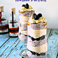 Blueberry & Maple Mousse Parfaits #PureInfused
