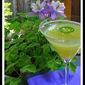 Jalapeno Lemon Drop