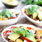 Grilled Avocado and Vegetable Tacos