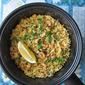 Radish Leaves Spiced Rice/ Biryani 小萝卜叶印度香饭