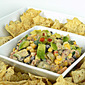 Corn & Black Bean Salsa Dip~ Secret Recipe Club