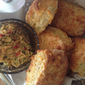 Tasty Flavoured Tomato Butter - Liberally Spread on the Best Cheese Scones - Divine