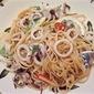 Calamari-Lemon Pasta