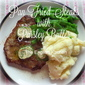 Pan Fried Steaks with Parsley Butter for Two