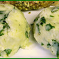 Mashed Potatoes with Spinach