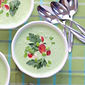 Frothy Chilled Cucumber Soup
